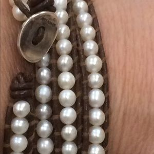 chan luu pearl and leather